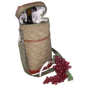 Picnic Gift Bottles Carrier Ensemble