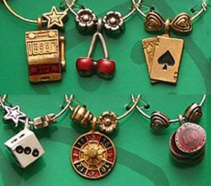 Casino Wine Glass Charms Unlimited
