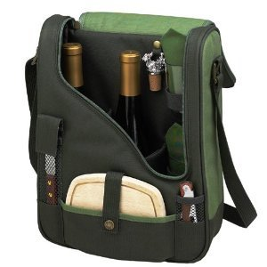 Wine Cheese Cooler Forest Green
